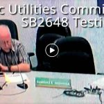 My comments today on SB2648 Relating to the Public Utilities Commission.