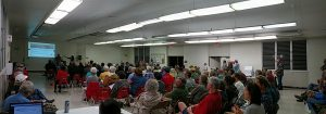 Town Hall Meeting in Pahoa with Senator Ruderman and Representative San Buenaventura